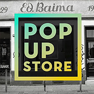 <p><b>ED BAIMA</b> Pop Up Store<p>