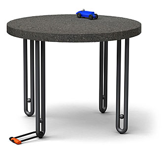 Köln Haarnadel Tisch