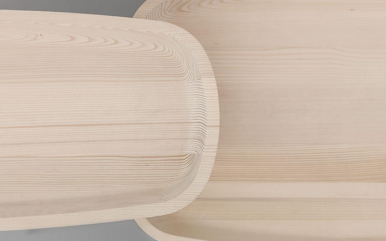 Trog - Beistelltisch - Detail