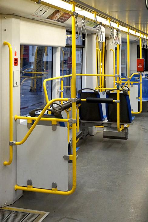 strassenbahn - kvb - interior